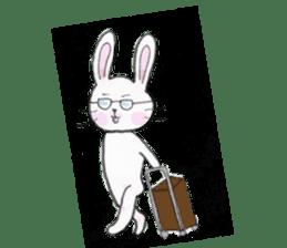 overbite Rabbit sticker #584414