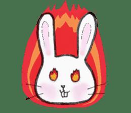 overbite Rabbit sticker #584415