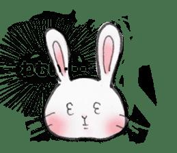 overbite Rabbit sticker #584420
