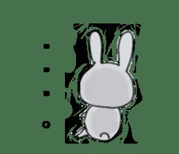 overbite Rabbit sticker #584427