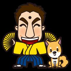 Fukuoka-ben Kinya and Fukusuke