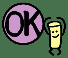 Mr. Hanko loose handwriting(English) sticker #585204