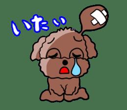 Playful dog sticker #586011