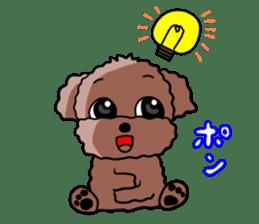 Playful dog sticker #586016