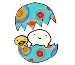 Child of the bean(MAMETAN) sticker #586266