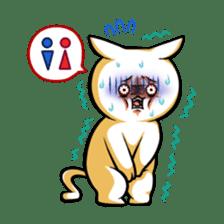 YURUUZA-NYANKO! of the louis family sticker #586330