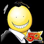 สติ๊กเกอร์ไลน์ Assassination Classroom (J50th)
