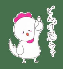 Cute Jidori-chan in Miyazaki pref sticker #588397
