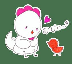 Cute Jidori-chan in Miyazaki pref sticker #588402