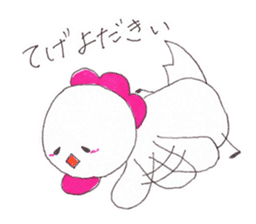 Cute Jidori-chan in Miyazaki pref sticker #588406