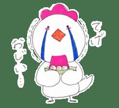 Cute Jidori-chan in Miyazaki pref sticker #588412