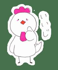 Cute Jidori-chan in Miyazaki pref sticker #588416