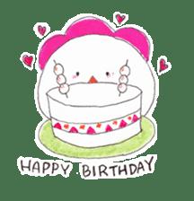 Cute Jidori-chan in Miyazaki pref sticker #588431
