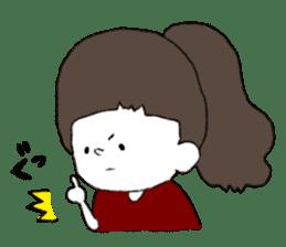 Osaka girl sticker #589403