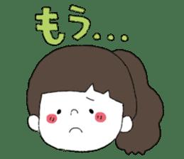 Osaka girl sticker #589406