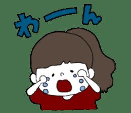 Osaka girl sticker #589407