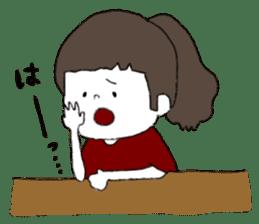 Osaka girl sticker #589410