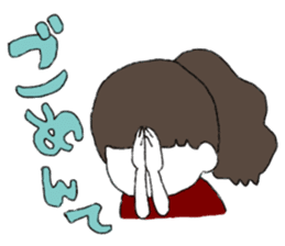 Osaka girl sticker #589412