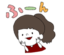 Osaka girl sticker #589415