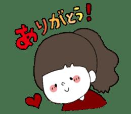 Osaka girl sticker #589416