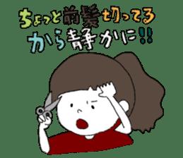 Osaka girl sticker #589418