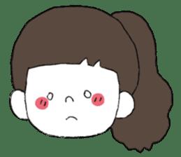 Osaka girl sticker #589419