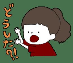 Osaka girl sticker #589420