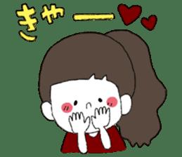 Osaka girl sticker #589424