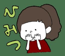 Osaka girl sticker #589425