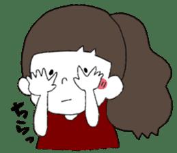Osaka girl sticker #589427