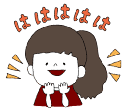 Osaka girl sticker #589429