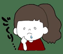 Osaka girl sticker #589431