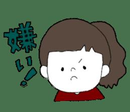 Osaka girl sticker #589433