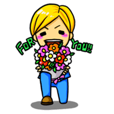 I want to convey my feelings on a date! sticker #589605