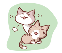 It's good cat day! 1st sticker #590289