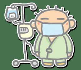 Go to a hospital sticker #590754