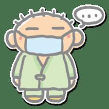Go to a hospital sticker #590755