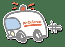 Go to a hospital sticker #590760