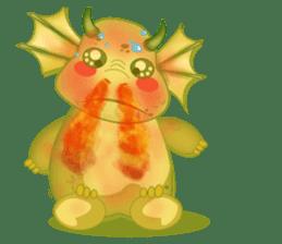 Baby Dragon sticker #591796