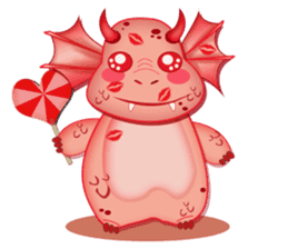 Baby Dragon sticker #591797