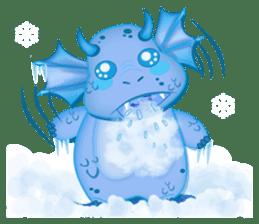 Baby Dragon sticker #591798