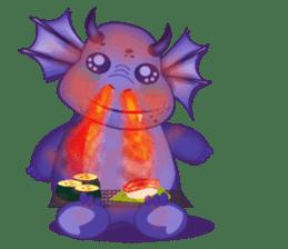 Baby Dragon sticker #591799