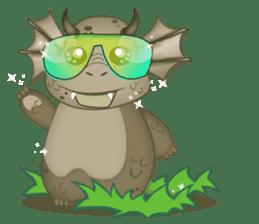 Baby Dragon sticker #591800