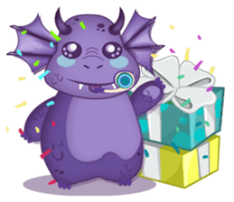 Baby Dragon sticker #591803