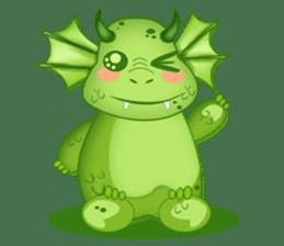 Baby Dragon sticker #591805