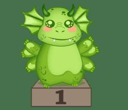 Baby Dragon sticker #591810