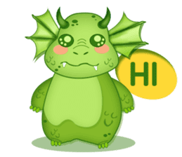 Baby Dragon sticker #591811