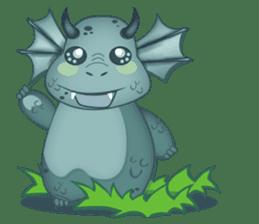 Baby Dragon sticker #591816