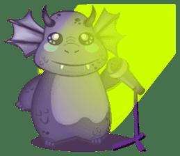 Baby Dragon sticker #591818