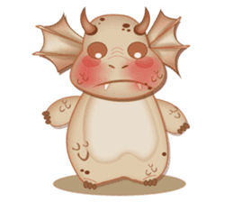 Baby Dragon sticker #591820
